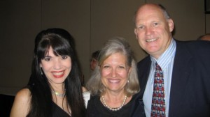 Cheryl Ariaz Wicker, Nancy Rogers, and Chris Rogers at the 2011 ICVM Crown Awards