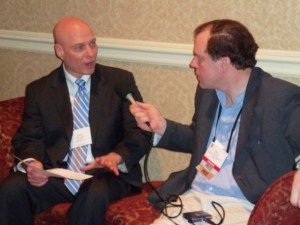 Scotty Sanders in a Media Interview at National Religious Broadcasters Conference 2011