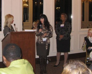 CWIMA Dallas meeting media panel featuring Cheryl Ariaz Wicker and Karia Bunting