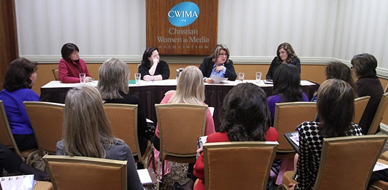 Christian Women in Media national conference media panel